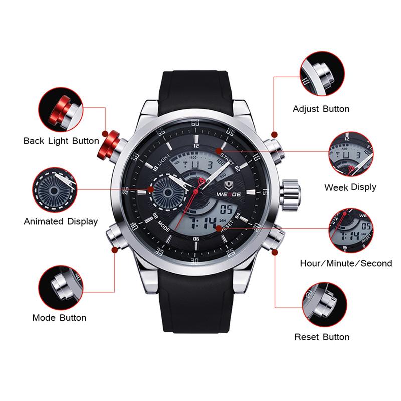часы weide sport watch инструкция на русском видео Rabanne One